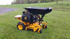 "Wright 36"" Sentar Riding Zero Turn Lawn Mower Commercial Kawasaki Hydraulic Dump #Wright"