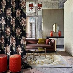 The perfect place to be inspired... @kahkeshanidesignco #interiordesign #design #decoration #luxury #fabric #wallpaper #curtains - Architecture and Home Decor - Bedroom - Bathroom - Kitchen And Living Room Interior Design Decorating Ideas - #architecture