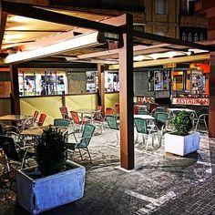 #terraza esperando clientes en el #díadecervantes