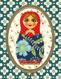 Poupées russes - Gwenaëlle TROLEZ Créations © ™