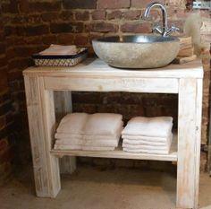 meuble vasque sdb Pays Bois