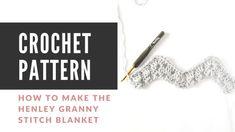 How to Change Yarn in Crochet - Easy Crochet Picot Crochet, Crochet Ripple, Quick Crochet, Chunky Crochet, Crochet Basics, Crochet Stitches, Free Crochet, Ripple Afghan, Simple Crochet