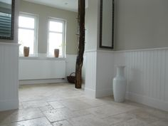 #beadboard.de - stilvolle Wände #Badezimmer Holzpaneele #Wandverkleidung…