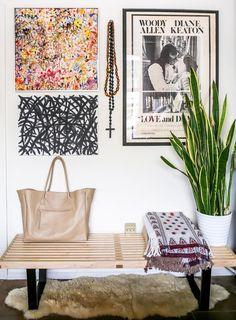 An Open-Concept Loft Overlooking LA | Design*Sponge