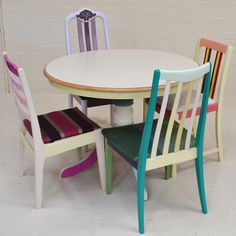 Eco Rainbow Dining Set