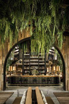 Un restaurante en Madrid inspirado en las construcciones rurales de Los Pirineoselledecoresp