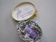 """DIY """"Will You Be My Bridesmaid?"""" Vinylmations"""