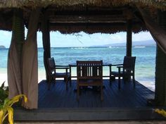 Qamea Resort And Spa Fiji: Private Beach Dinning. One of my favorite memories from our honeymoon