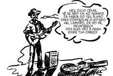 RABISCOS ENQUADRADOS: TRILHA SONORA 62: HEI AL CAPONE