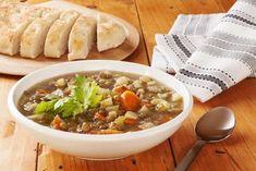 ▷ TOP 5 rychlých zavářek do polévky pro rok 2021 Lentil Soup Nutrition, Green Lentil Soup, Vegan Lentil Soup, Green Lentils, Best Vegan Recipes, Vegetarian Recipes, Spicy Soup, Small Pasta, Italian Soup