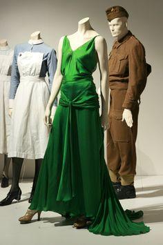 The green dress in Atonement  #green #dress #silk