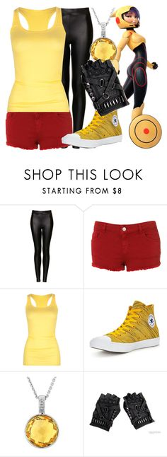 """""""Gogo Tomago - Shorts"""" by dutchveertje ❤ liked on Polyvore featuring Topshop, Active, Converse and Reeds Jewelers"""