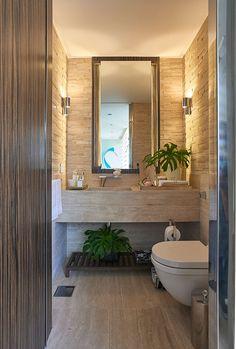 Home Decoration - Gordmans Decor - Ideas de libre Gallery Bathroom Design Luxury, Modern Bathroom, Small Bathroom, Dream Bathrooms, Beautiful Bathrooms, Lavabo Vintage, Powder Room Decor, Powder Rooms, Bathroom Inspiration