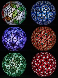 Times Square Ball  -  6 different lighting patterns