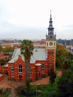 Gereformeerde Kerk | Pretoria Pretoria, Church Building, My Land, Mosques, Cathedrals, South Africa, Tower, Christian Faith, City