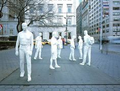 the movement within the city  george segal