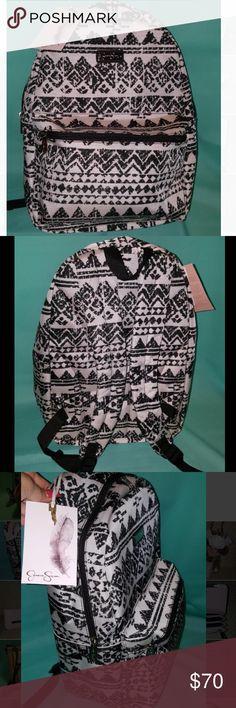 "🌻NEW🌻 Jessica Simpson 17"" Aztec Backpack Jessica Simpson Aztec Print backpack Jessica Simpson Bags Backpacks"