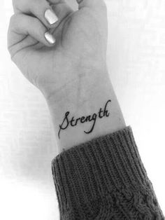 40 Inspiring One Word Tattoo Ideas