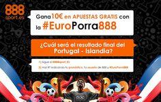 el forero jrvm y todos los bonos de deportes: 888sport europorra888 twitter Portugal vs Islandia...