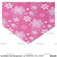 """Snowflakes Your Background Color 10"""" X 15"""" Tissue Paper"""