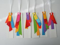 coloured tags - etsy