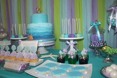 Ariel the Little Mermaid Inspired 8th Birthday    CatchMyParty.com