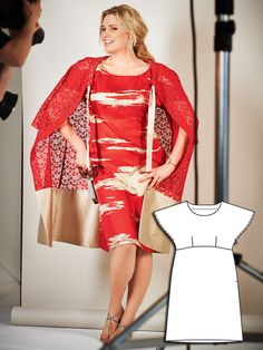 Photo Bombshell: 8 New Plus Size Sewing Patterns – Sewing Blog   BurdaStyle.com