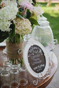 lavender thyme lemonade | Kristyn Hogan