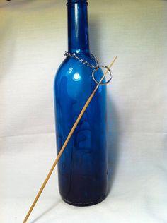 Glass Bottle Incense Burner!
