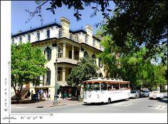 Scenic Savannah..  #Savannah #beautiful #city #travel
