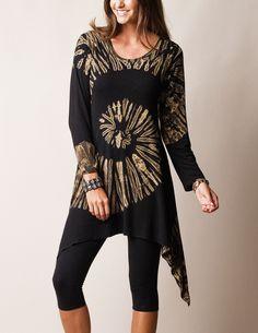 Spiral Tunic Dress