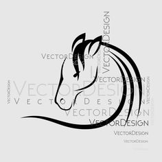 Horse Head v1 Graphics SVG Dxf EPS Png Cdr Ai Pdf Vector Art Clipart instant download Digital Cut Print File Cricut Silhouette Decal by VectorartDesigns on Etsy
