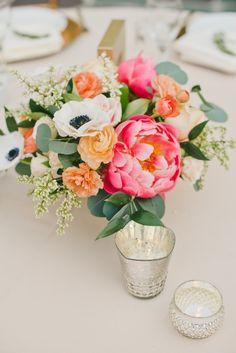 Featured Photographer: Onelove Photography; wedding centerpiece idea