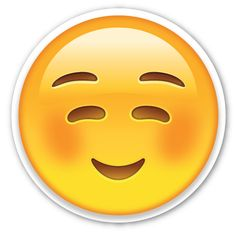 White Smiling Face