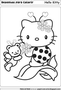 Pin By Coloring Fun On Hello Kitty