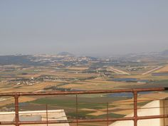Mount Tabor and Yizrael  valley seen from the Muhraqa monastry  photo mirjam Bruck -Cohen