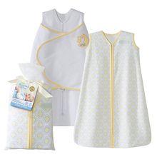 HALO® SleepSack® 2-Piece Gift Set 100% Cotton | Yellow Moon and Stars