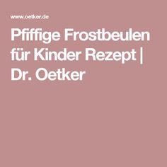 Pfiffige Frostbeulen für Kinder Rezept   Dr. Oetker