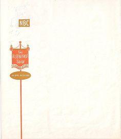 Jay Ward, 1962 |Source  Letterhead used by the late-Jay Ward, creator of Rocky & Bullwinkle.