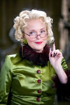 I'm Rita Skeeter, I write for the Daily Prophet. Of course you know that, don't you?