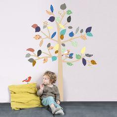 Inspirational Kindertr ume werden wahr mit MIMI ulou und den wundersch nen Wandstickern Mit dem ausgefallenen