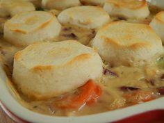 Chicken pot pie casserole by drizzle me skinny