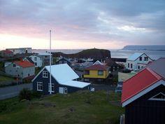 Stykkishólmur, Iceland village.