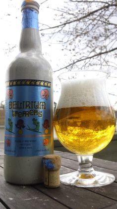 A good Summer Beer: Delerium Tremens.  Watch out for this one!! After baby drink.