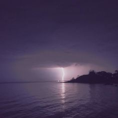 Lightning beyond the bay at #NanchengwaLodge #LakeMalawi