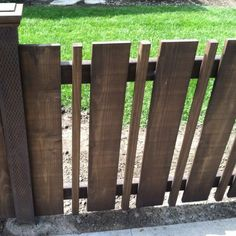 3 Graceful Tricks: Privacy Fence For Acre Fencing Ideas Front Garden.Wood Fence Jacksonville Wooden Fence Holding Back Water. Brick Fence, Front Yard Fence, Pallet Fence, Diy Fence, Pool Fence, Backyard Fences, Garden Fencing, Fence Ideas, Pallet Planters