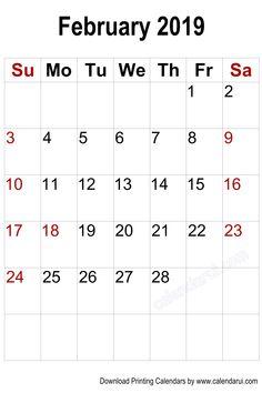 Blank Monthly Calendar Template printable 11x17 calendar