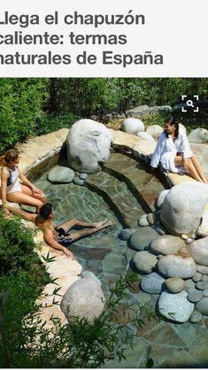 May be use my grandfather's rocks to make this…hum? Small Backyard Pools, Small Pools, Outdoor Pool, Backyard Landscaping, Swimming Pool Pond, Homemade Pools, Small Pool Design, Mini Pool, Dream Pools