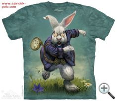 Another great find on Green & White Rabbit Tee - Toddler & Kids by The Mountain Fairy Tail T Shirt, White Rabbit Alice In Wonderland, Cool T Shirts, Tee Shirts, Funny Shirts, Steampunk, White Rabbits, Mountain Man, Couture