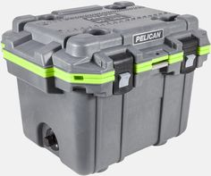 Pelican™ 30QT Elite Cooler Dark Grey/Green
